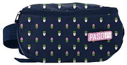 Жіноча сумка на пояс, бананка Paso PPMN19-510 синя