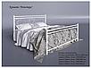 Кровать металлическая - Монстера, фото 5