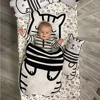 """Одеяло. Спальный мешок """"Котик"""""""