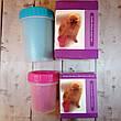 Лапомойка для собак емкость-стакан для мытья лап животных (Для маленьких собак) Розовый, фото 5