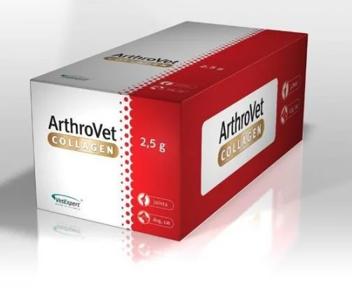 VetExpert ArthroVet Collagen АртроВет Колаген підтримка, захист суглобів (колаген), 60 пак