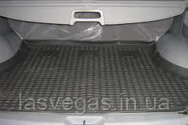 Коврик в багажник  HYUNDAI Santa Fe Classic 2001-2006 кросс. (полиуретан)