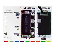 Магнитный коврик iPhone 6s Plus для раскладки винтов и запчастей при разборке