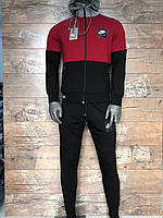 Мужской спортивный костюм Nike бордо. Чоловічий спортивний костюм Nike бордо