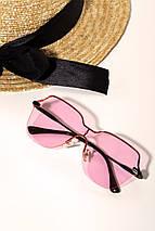 Солнцезащитные розовые очки с цветными линзами (1369.4146 svt), фото 3