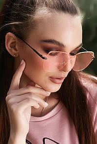 Солнцезащитные розовые очки с цветными линзами (1369.4146 svt)