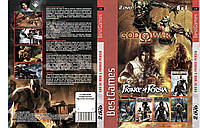 Сборник игр PS2 6в1: God of War & Prince Persia