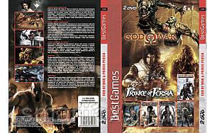 Сборник игр PS2 6в1: God of War & Prince Persia
