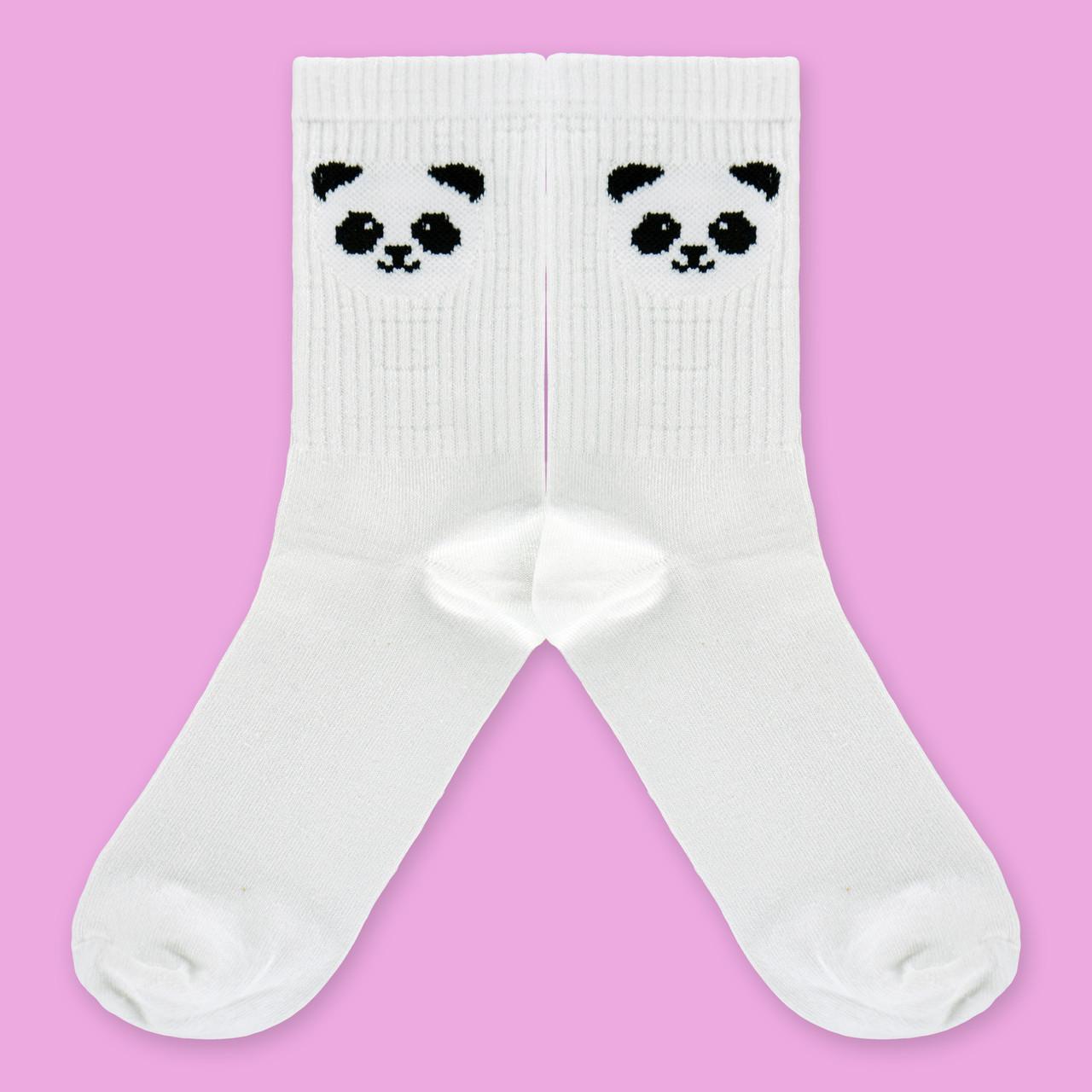 """Носки женские с принтом """"Панда"""""""