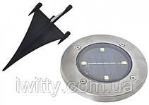 Світильник на сонячній батареї Solar Disk Lights, фото 2