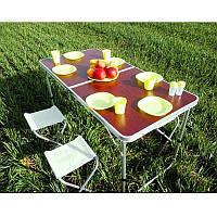 Раскладной стол для пикника,Folding Table, раскладной стол с набором из 4-х стульев,раскладной стол