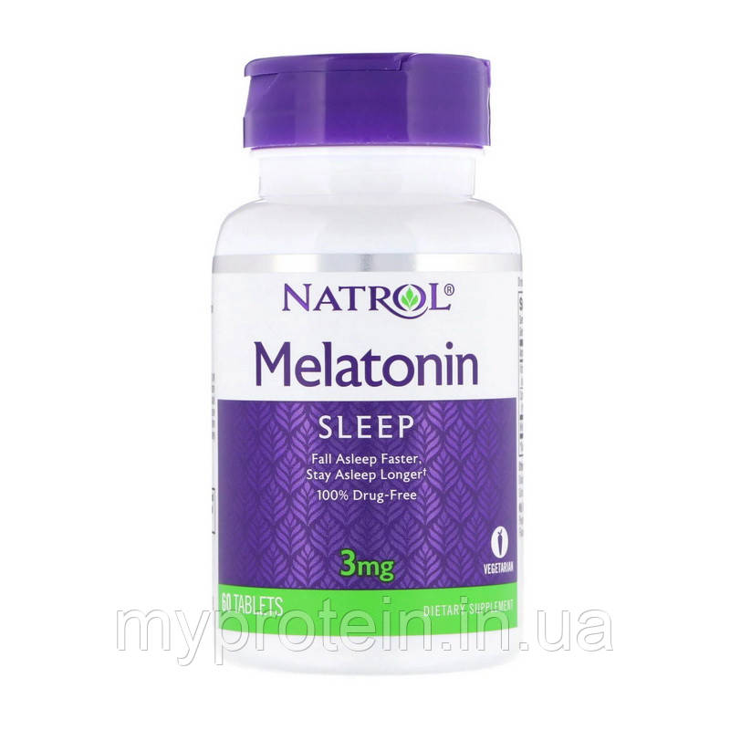 Natrol Мелатонин Melatonin 3 mg 240 tab