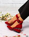 Элитная коллекция! Шикарные туфли из итальянской замши, фото 2