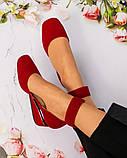 Элитная коллекция! Шикарные туфли из итальянской замши, фото 3