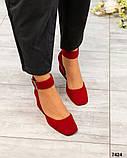 Элитная коллекция! Шикарные туфли из итальянской замши, фото 5