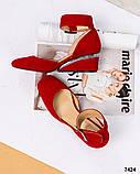 Элитная коллекция! Шикарные туфли из итальянской замши, фото 6