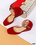 Элитная коллекция! Шикарные туфли из итальянской замши, фото 7
