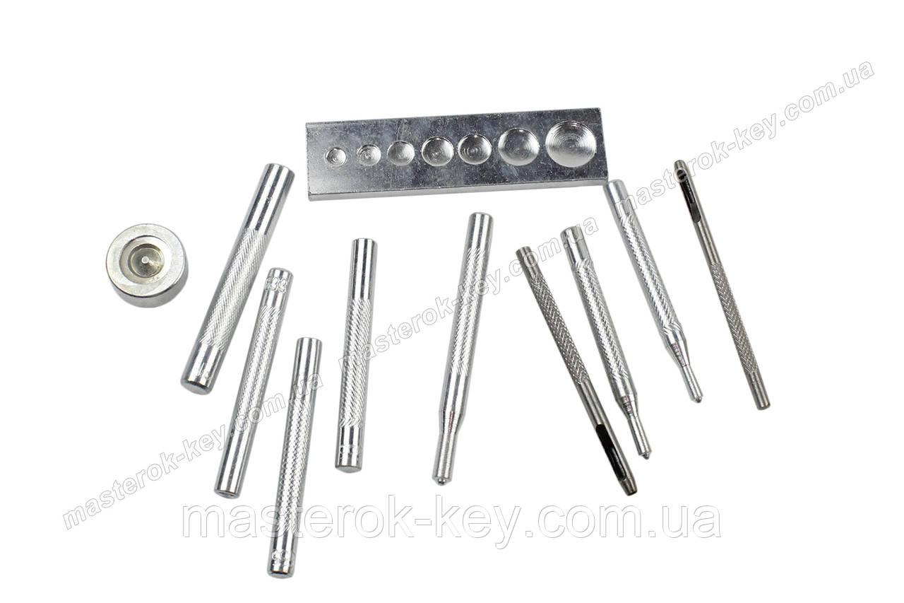 Комплект для ручной установки фурнитуры из 11 предметов
