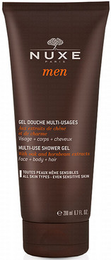 Очищающий Гель для душа Нюкс Мен Nuxe Men Multi-Use Shower Gel 200 мл