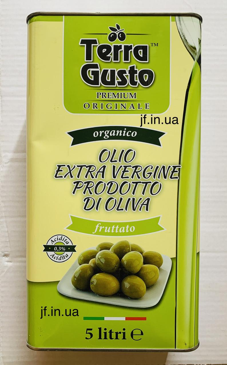 Олія оливкова «Terra Gusto», 5л
