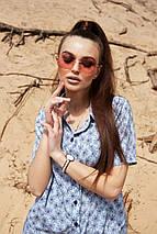 Солнцезащитные розовые очки с цветными линзами (1379.4151 svt), фото 2