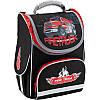 """Рюкзак шкільний каркасний """"Firetruck"""", Кайт (K18-501S-1)"""