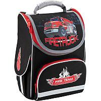 """Рюкзак шкільний каркасний """"Firetruck"""", Кайт (K18-501S-1), фото 1"""