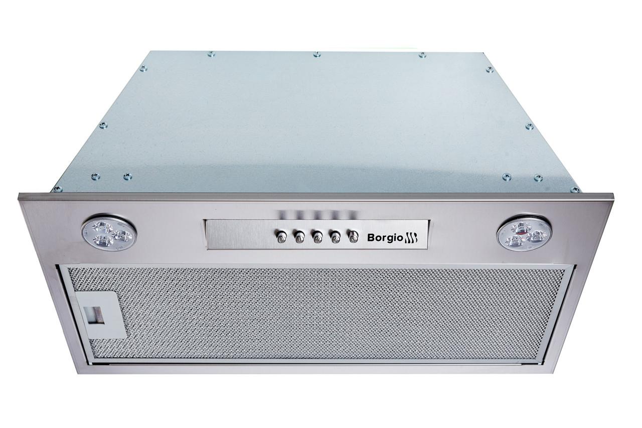 Кухонна витяжка вбудована BORGIO BIT-BOX 72 inox (850 м/куб)