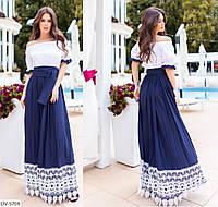 Платье летнее в пол 39531, фото 1