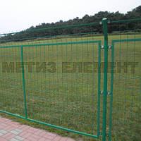 """Забор секционный """"Пром"""" H-1100 Ø-4/5 (секц. 1030х2500 яч. 200х50, ст. L-1500, кр. 3), фото 1"""
