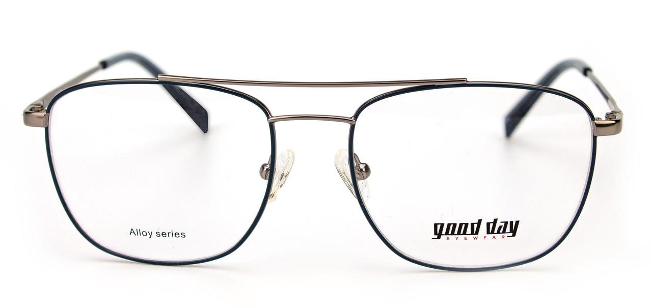 Стильна оправа для окулярів чоловіча (можна вставити лінзи)
