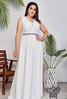 Вечернее платье в пол арт 35608 с  42 по 54 размер (бн)