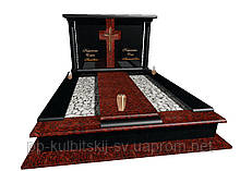 Пам'ятник надгробний гранітний подвійний ЕлітнийN7113