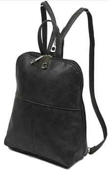Рюкзаки з натуральної і штучної шкіри