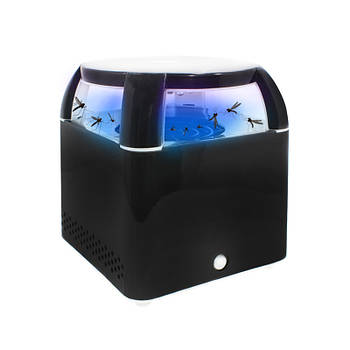Электрический уничтожитель комаров Lesko WD-05 Black отпугиватель насекомых с LED подсветкой мощность 5 Вт USB