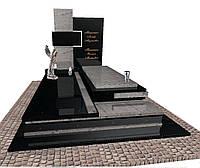 Елітний пам'ятник надгробний гранітний подвійний  N3715