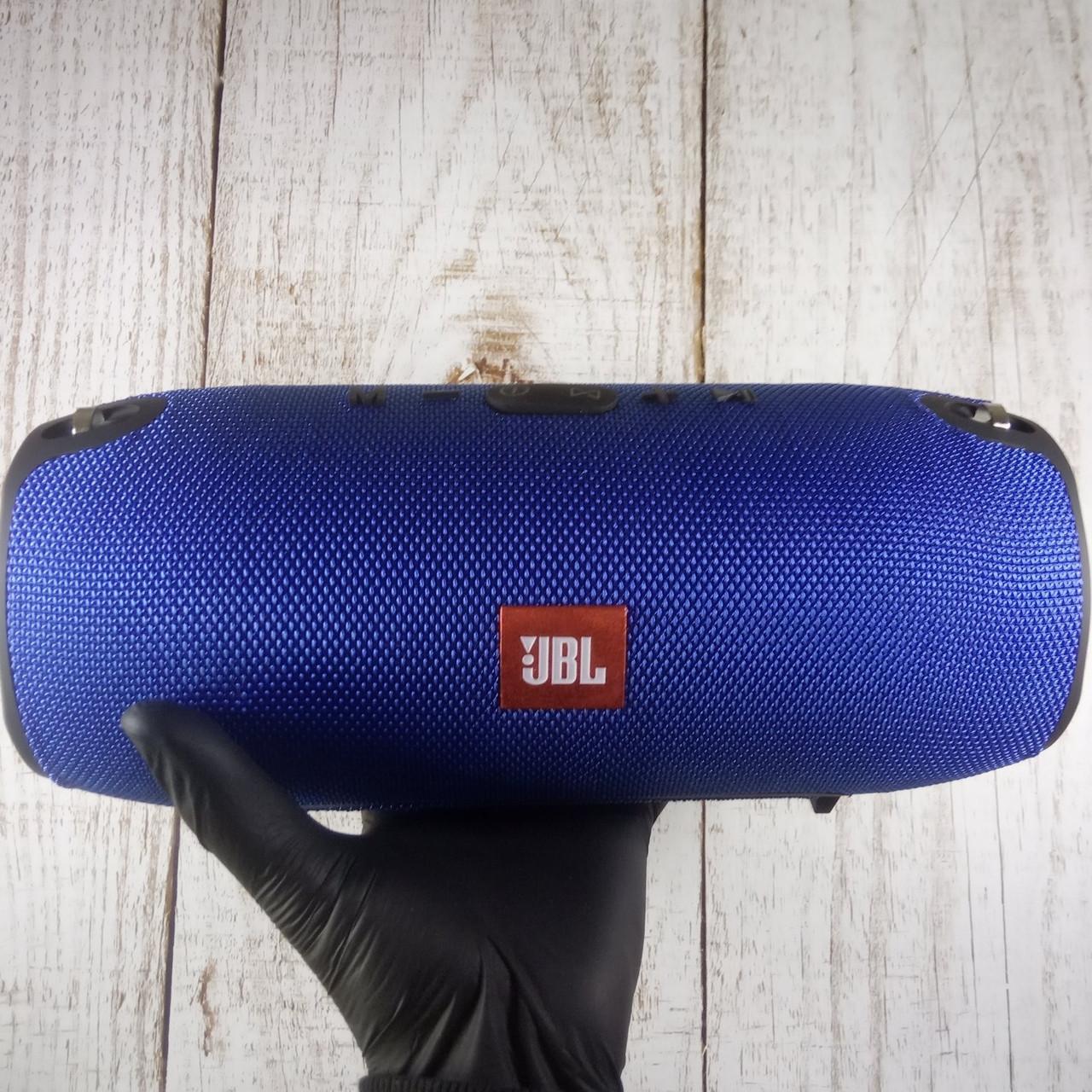 Портативная Bluetooth колонка в стиле JBL Xtreme Big Blue - Синяя (Реальные фото)