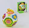 Развивающая игрушка Веселый шар Hola вращается, световые и звуковые эффекты