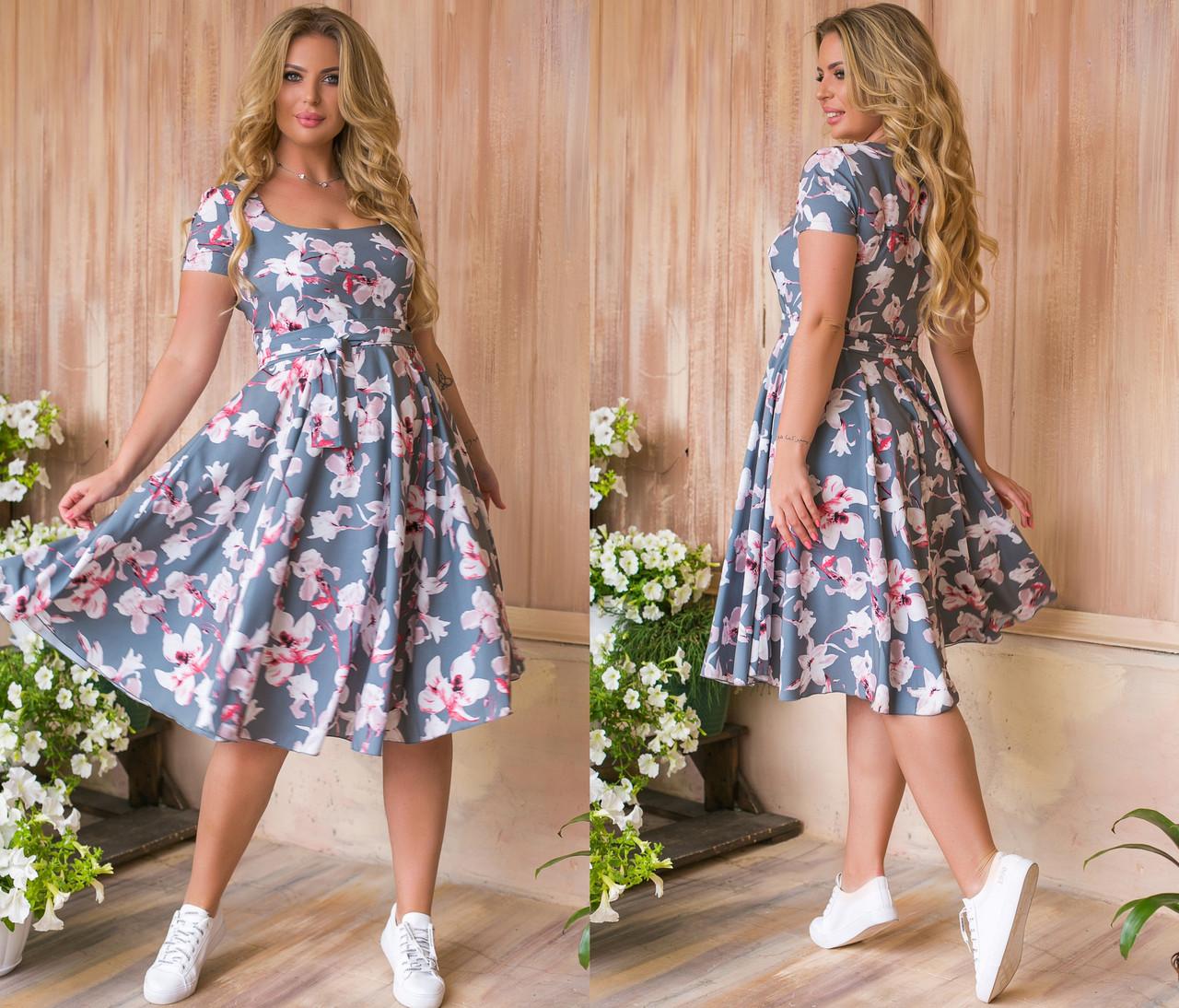 Платье женское 1218ки батал