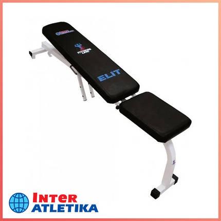 Скамья для жима Inter Atletika Элит ST001.8, фото 2