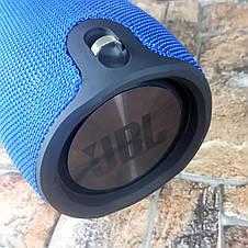 БОЛЬШАЯ! Портативная беспроводная колонка в стиле JBL Xtreme Big  - Синяя (Живые фото), фото 3