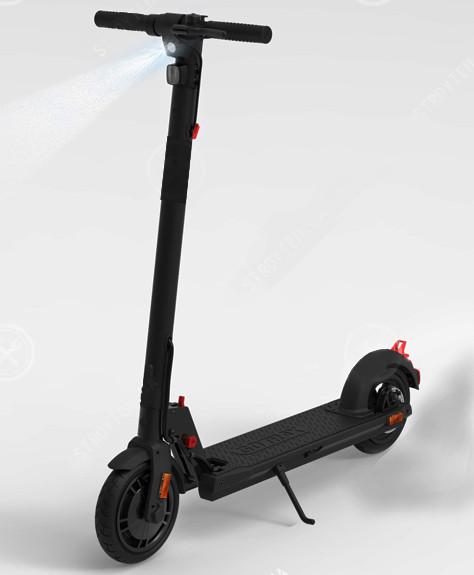 Электросамокат Forte TT-EL-H858 черный/серый Запас хода 30 км Время зарядки 3-4 часа Грузоподьемность 120 кг