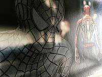Постер Человек паук Spider-Man на стену на холсте по номерам№2 50 см х 35 см