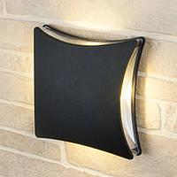 Светильник LED садово-парковый 5,5Вт 4100K 205х205х73мм TAFLAN IP44 черный алюминиевый Horoz Electric