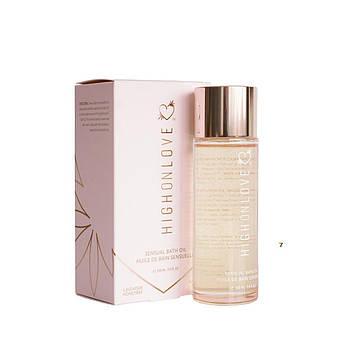 Масло для ванн HighOnLove Bath Oil - Lavender Honeybee (100 мл) / Расслабляющее масло для принятия ванн