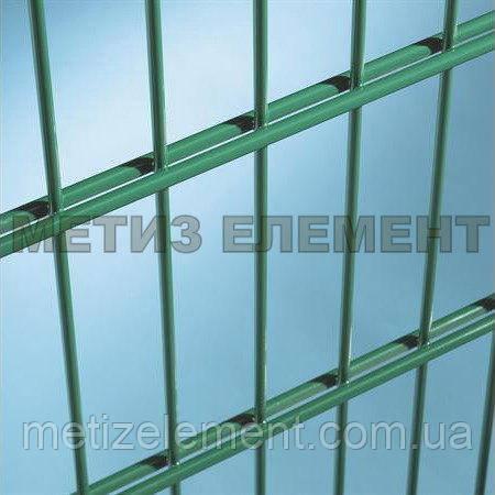 """Секційний паркан """"Класік"""" H-2470 Ø-4 (секц. 2400х3000 яч. 200х50, ст. L-3000, кр. 6)"""