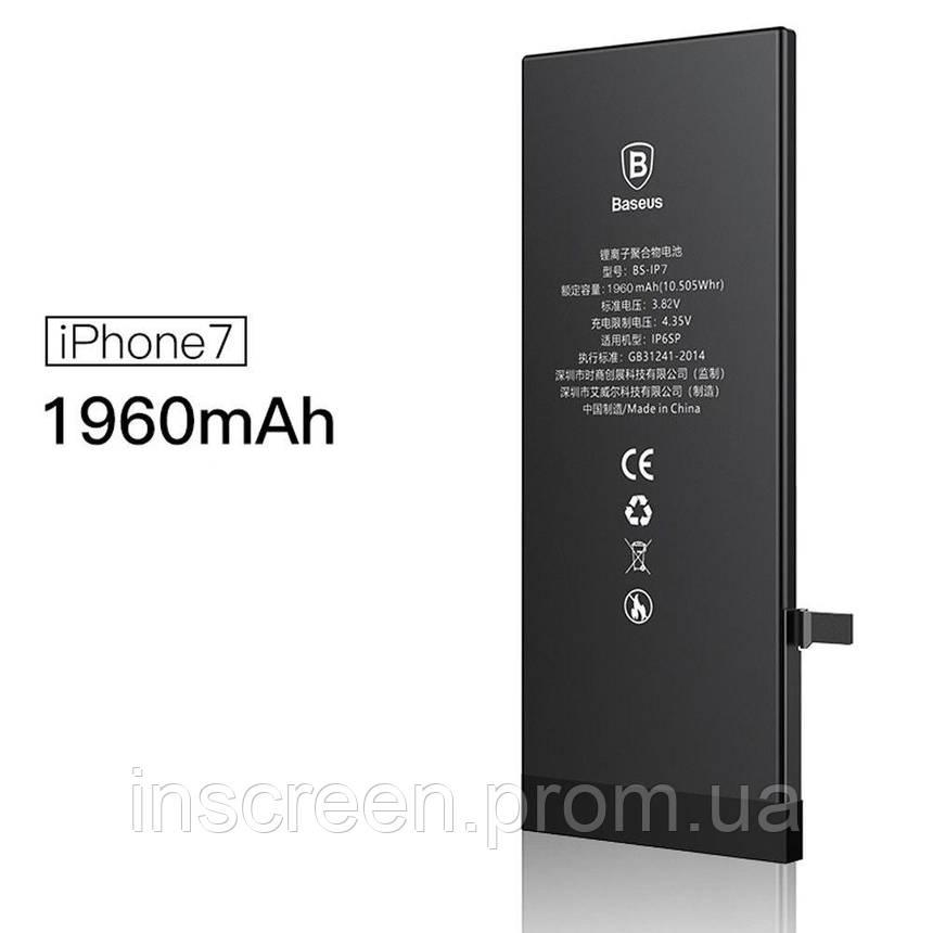 Акумулятор Apple iPhone 7 (1960mAh) Baseus, фото 2
