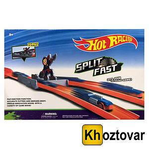 Гоночная трасса с машинкой Hot Racing Split Fast