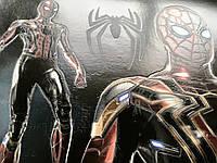 Плакат Человек-паук Питер Паркер на холсте на стену по номерам №3 50 см х 35 см
