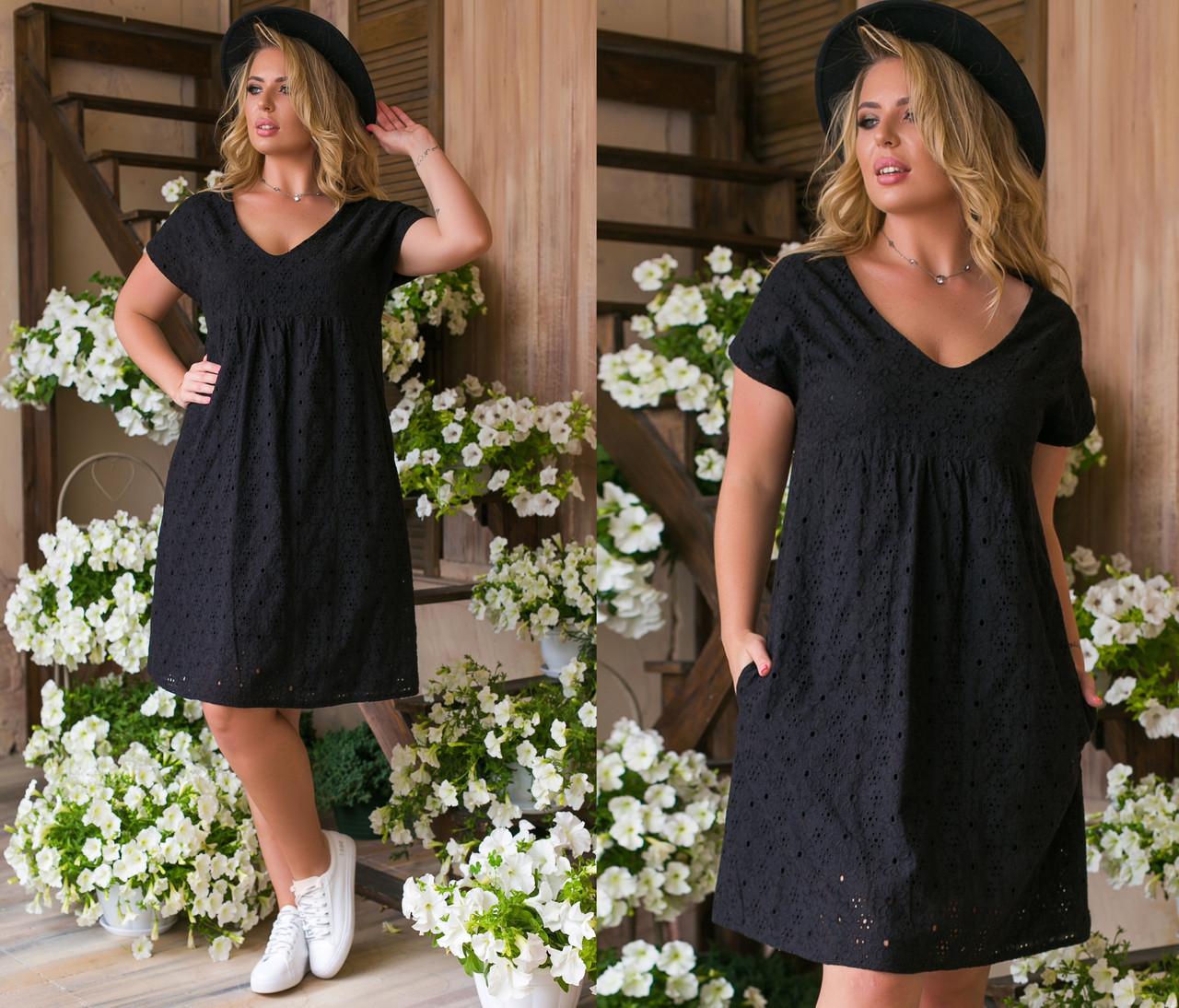 Платье женское 6055ки батал